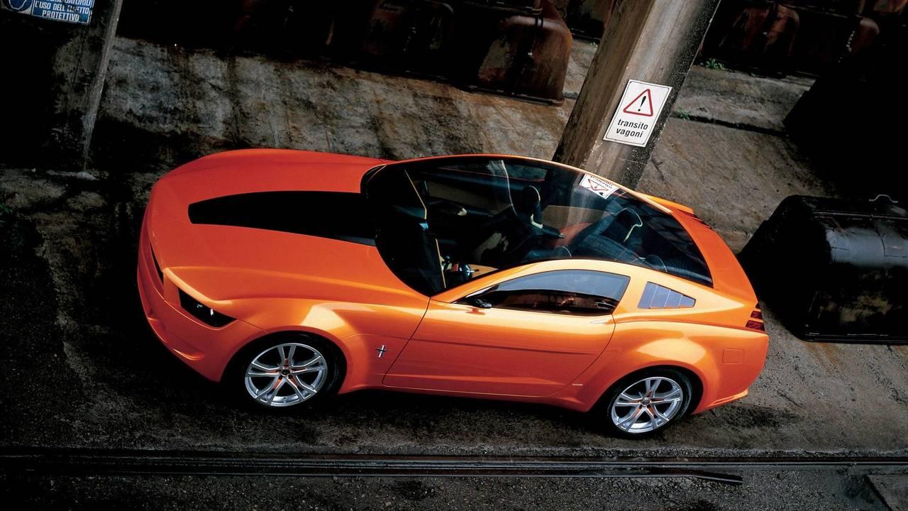 2. 2006 Ford Mustang Giugiaro concept