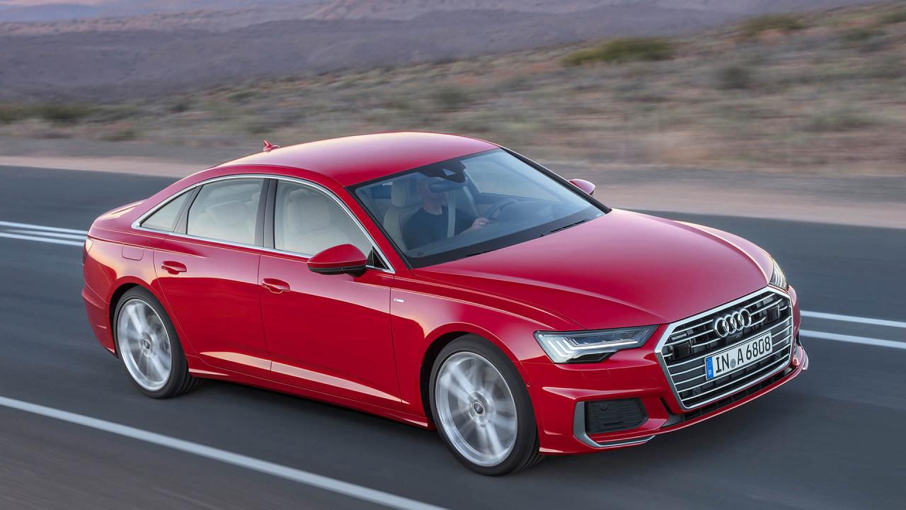 Audi A6 Limousine (neu): 4,94 Meter Länge
