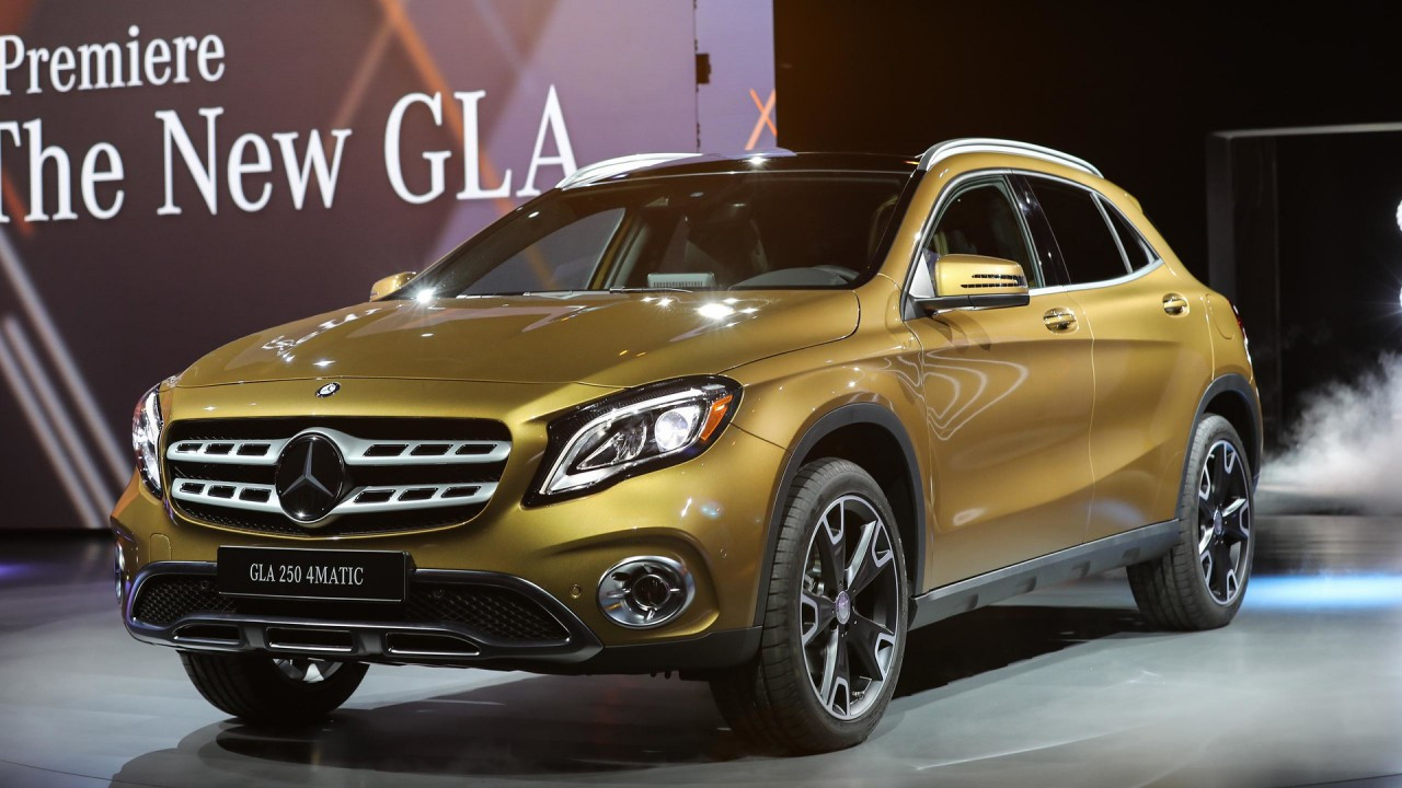 Mercedes GLA restyling