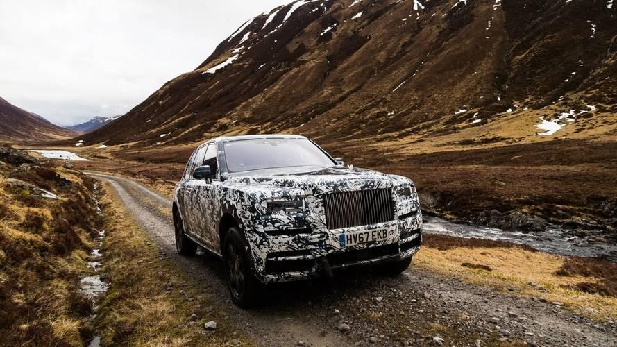 Rolls-Royce Cullinan, de paseo por los Highlands escoceses
