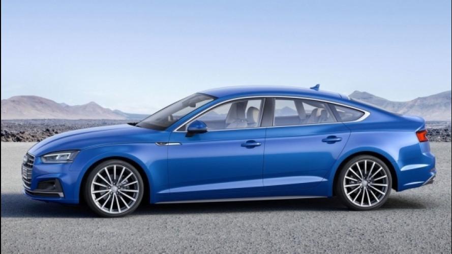 Nuova Audi A5 Sportback, iniezione di tecnologia