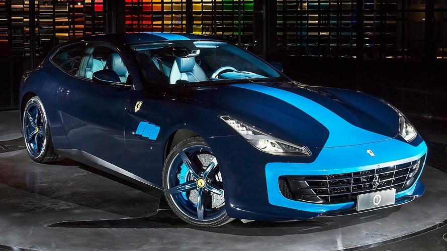 Ferrari GTC4 Azzurra, a Lapo piace così