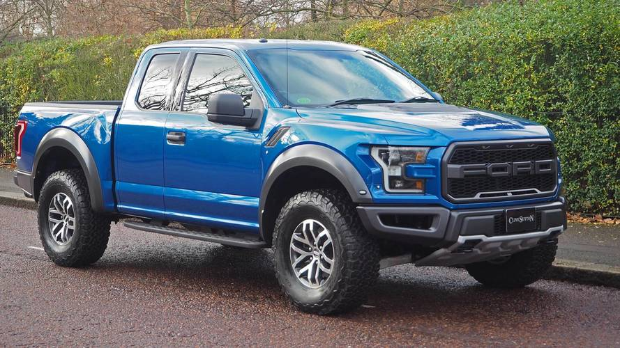 Now you can get a right-hand drive Ford F-150 pick-up in the UK