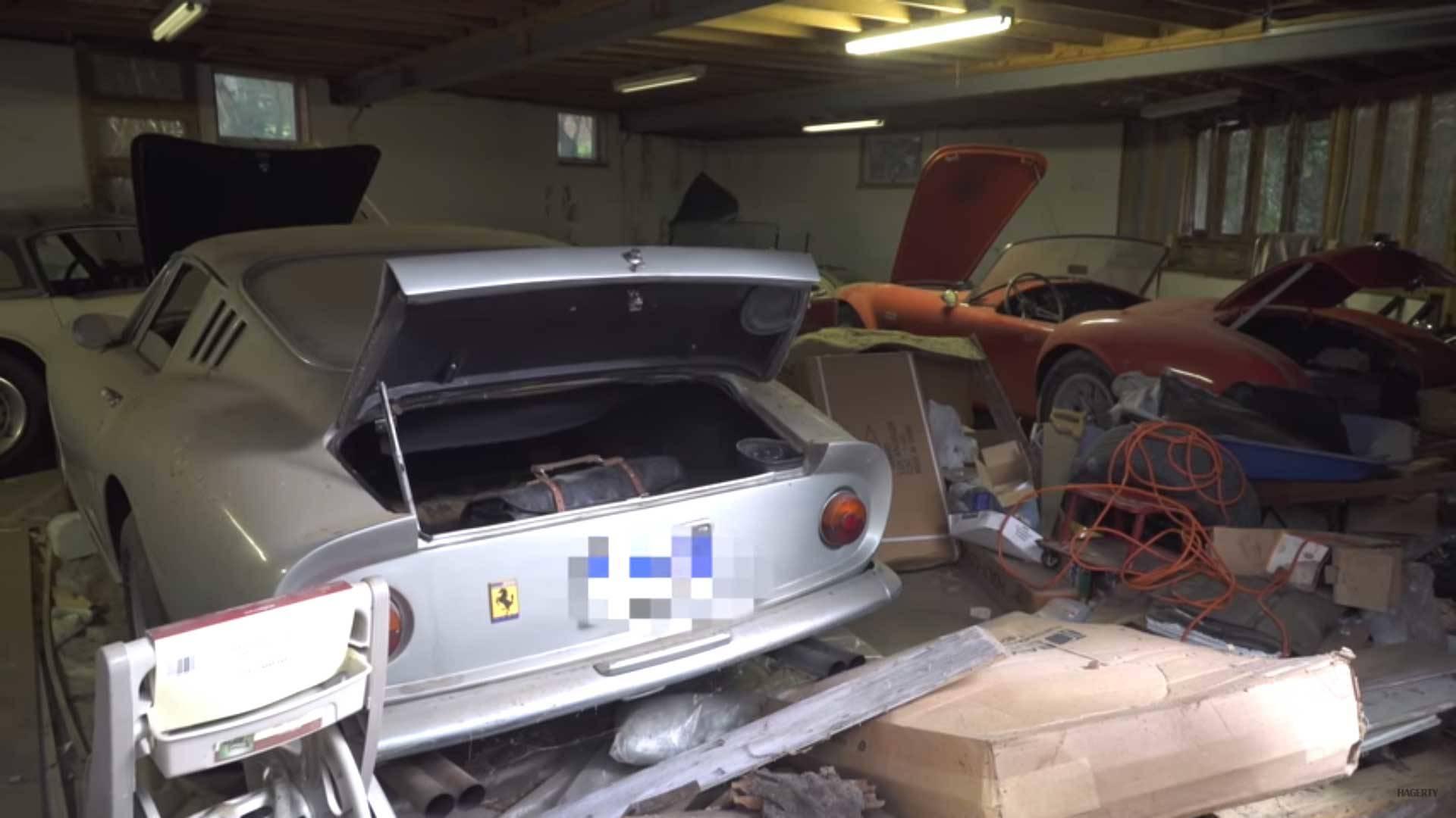 Amazing Ferrari 275 GTB, Shelby Cobra Barn Find Worth $4M