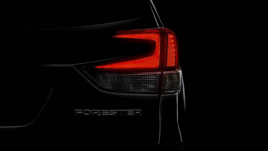 2019 Subaru Forester Teaser Announces March 28 Reveal