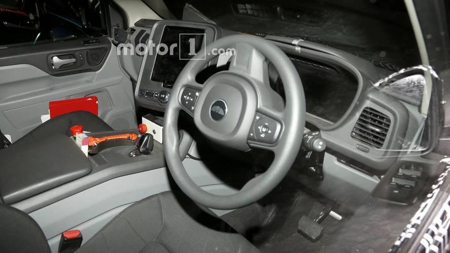 LEVC ticari araç casus fotolar