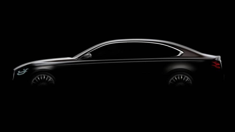 Yeni Kia K900'ün bir teaser görseli yayınlandı