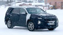 Nuova Hyundai Santa Fe, teaser e foto spia