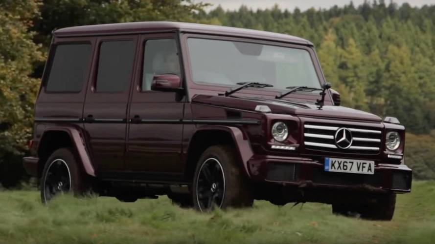 Saying Goodbye To The Old-School Mercedes-Benz G-Class
