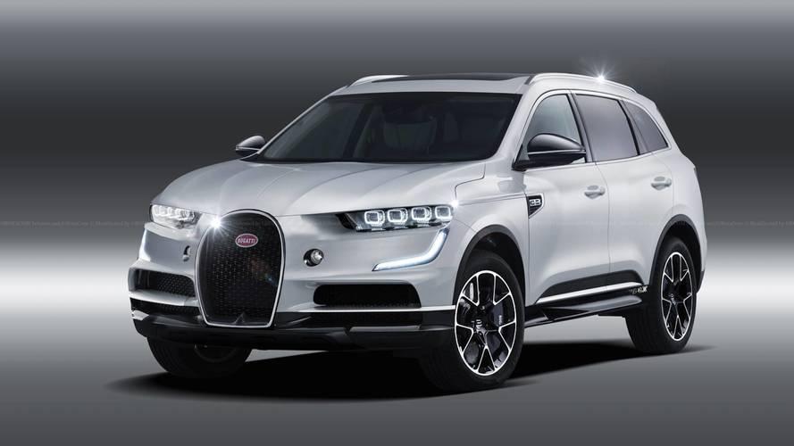 SUV Bugatti - L'illustration qui fait réfléchir...