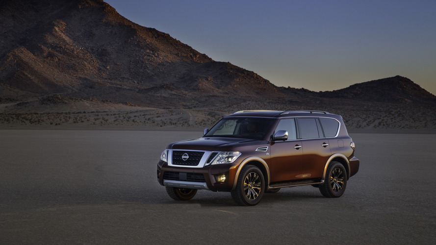 2017 Nissan Armada priced from $44,400