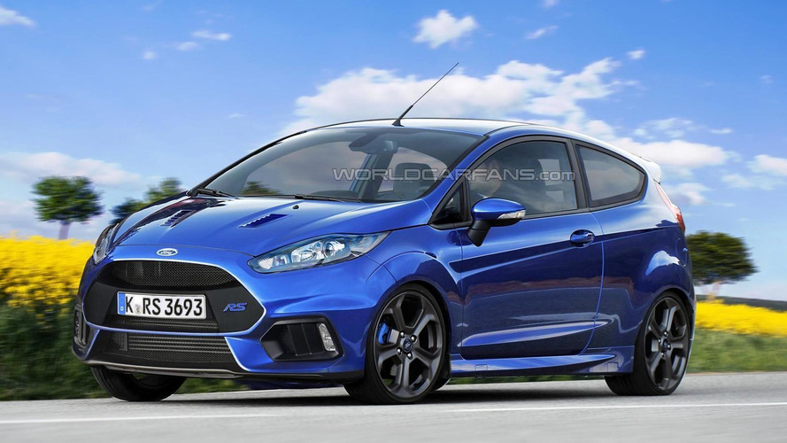Ford Fiesta RS could have up to 246 bhp