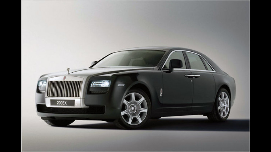 Rolls-Royce zeigt die Studie 200EX: Emily für Einsteiger