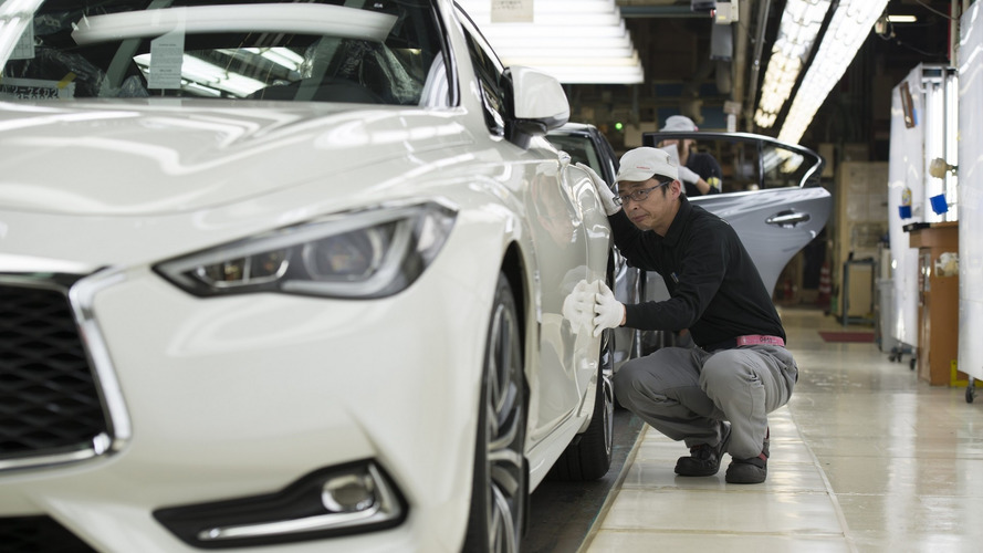 Infiniti Q60 - La production débute au Japon