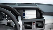 Mercedes iPhone Cradle Allows full Integration