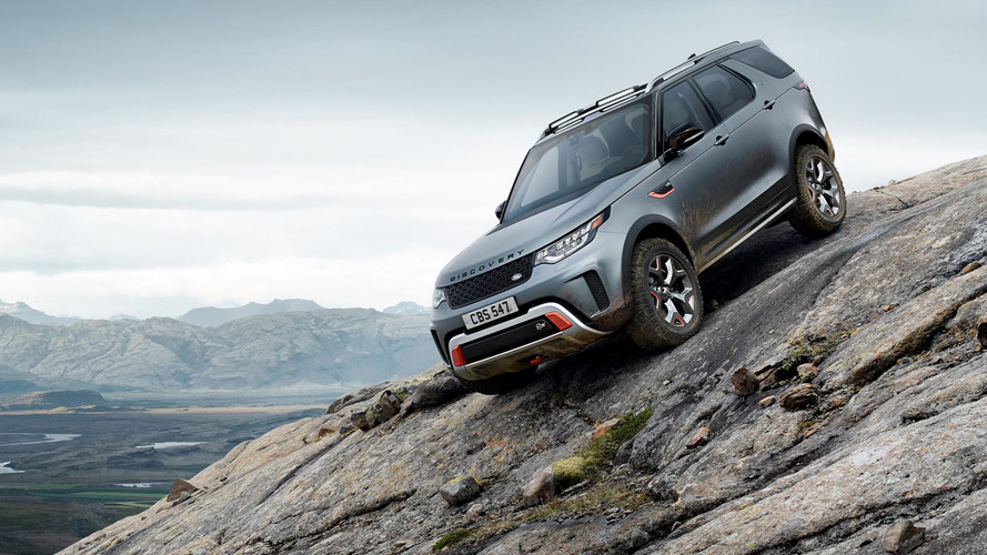 Land Rover Discovery SVX 2017