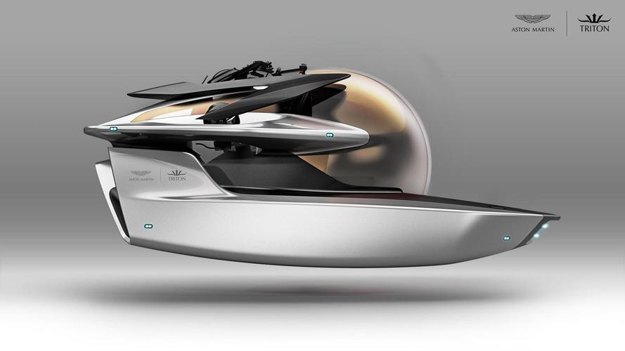 Aston Martin Reveals New Submarine