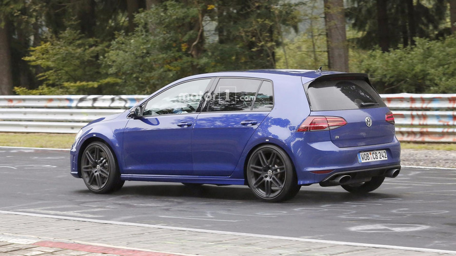 Why Does This VW Golf R Have Audi's RS Oval Exhaust Tips?