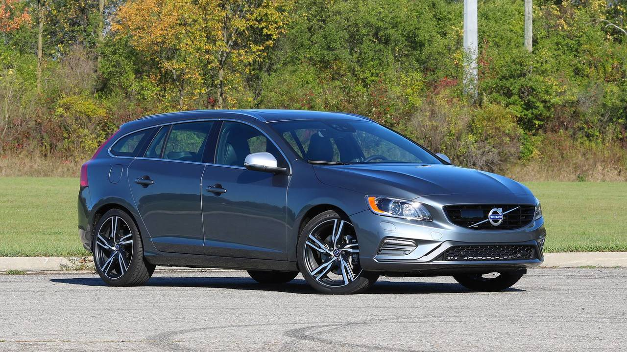 2018 volvo v60 review the cure for suv envy. Black Bedroom Furniture Sets. Home Design Ideas