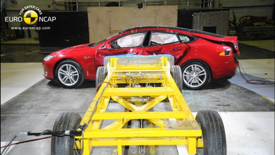 Crash Test Euro NCAP, quelle 5 stelle imperfette