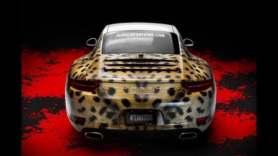 Porsche 911S, più unica che rara col ritocco di Adidas