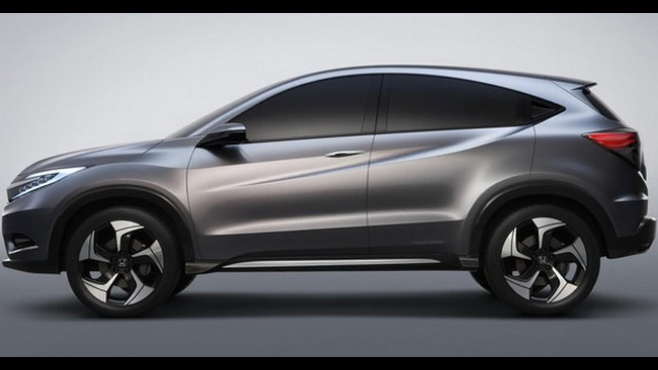 """Honda Urban SUV Concept - Conceito do """"Mini CR-V"""" antecipa rival do EcoSport"""