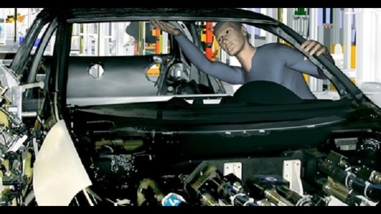 Nova tecnologia: Ford desenvolve fábrica virtual