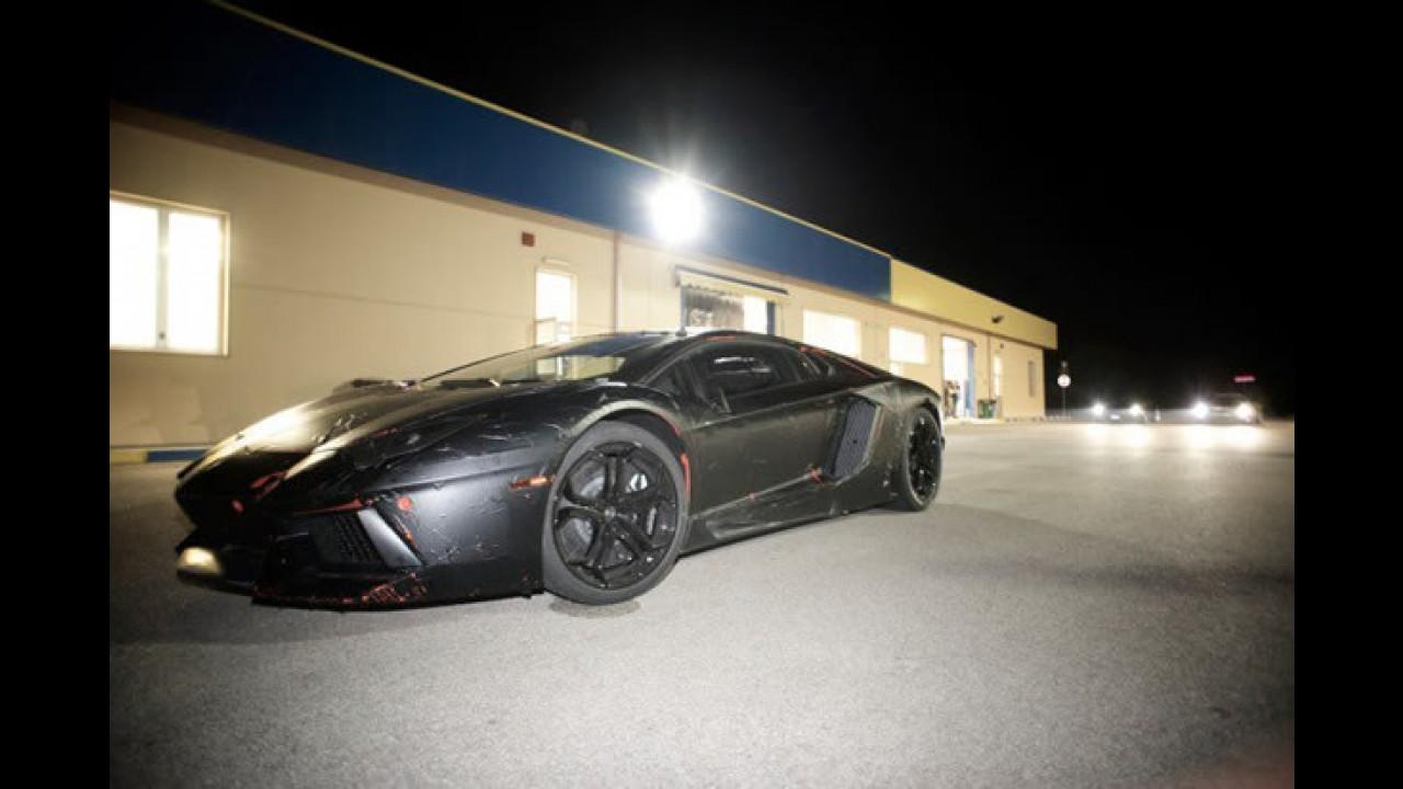 Primeira foto do Novo Lamborghini Aventador LP700-4 é divulgada no Facebook