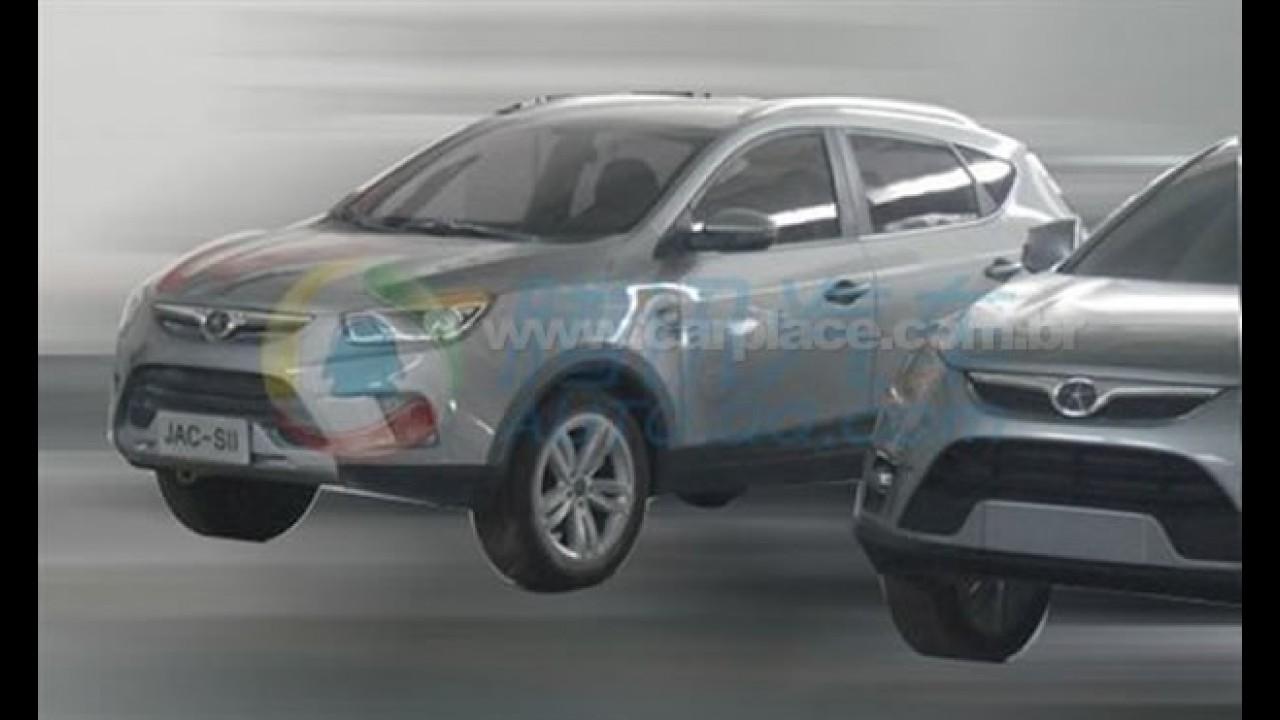 Este é o Novo SUV da JAC Motors - Utilitário que será lançado no Brasil é flagrado sem disfarces