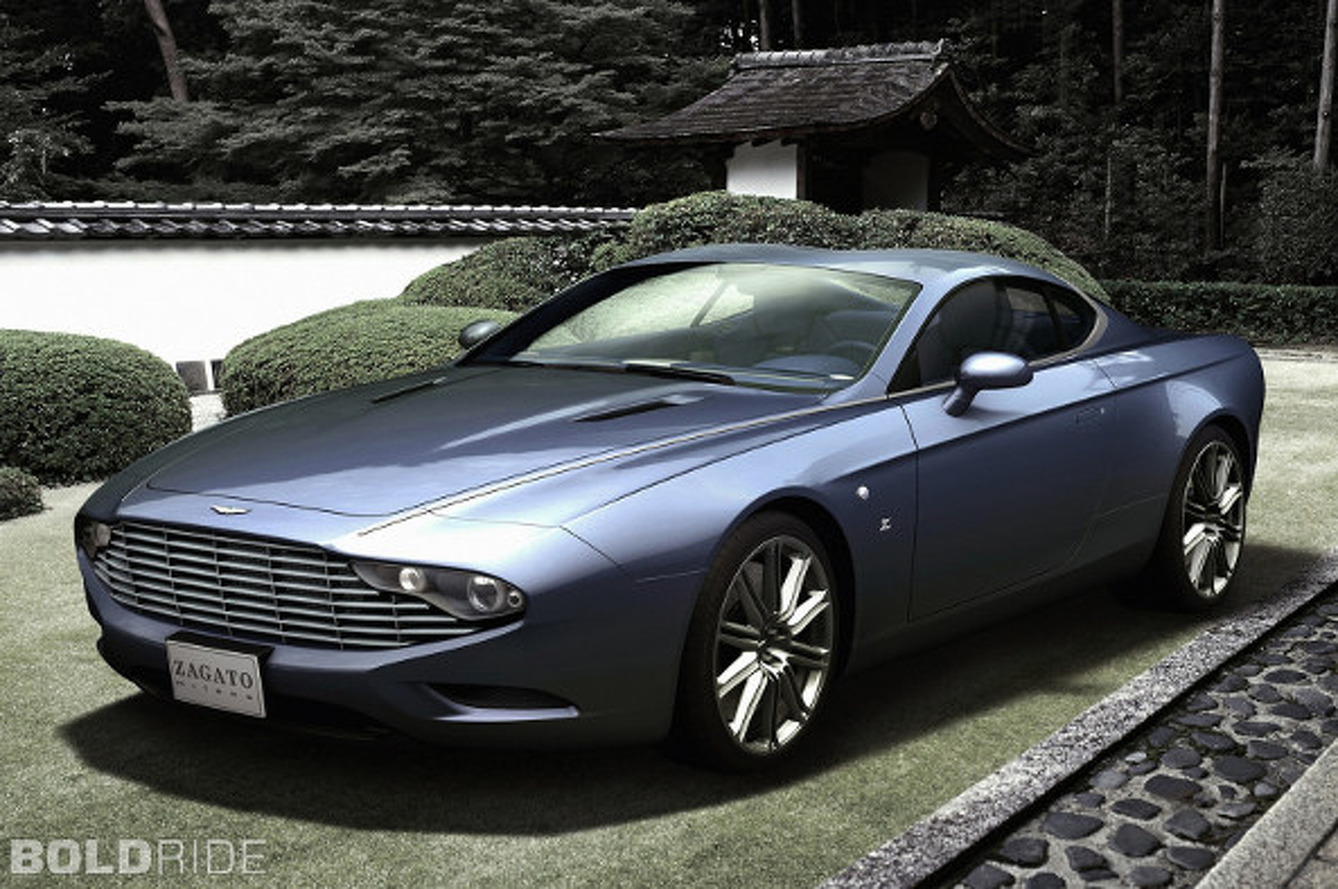 Aston Martin, Zagato Team Up For Jaw-Dropping Centennial Coupe