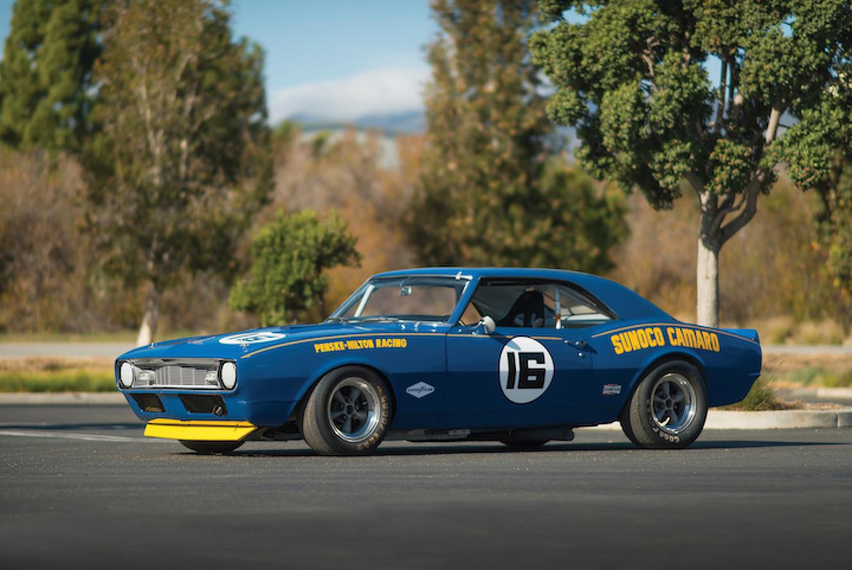Classic 1968 Chevrolet Sunoco Camaro Trans Am Could Fetch $1 Million