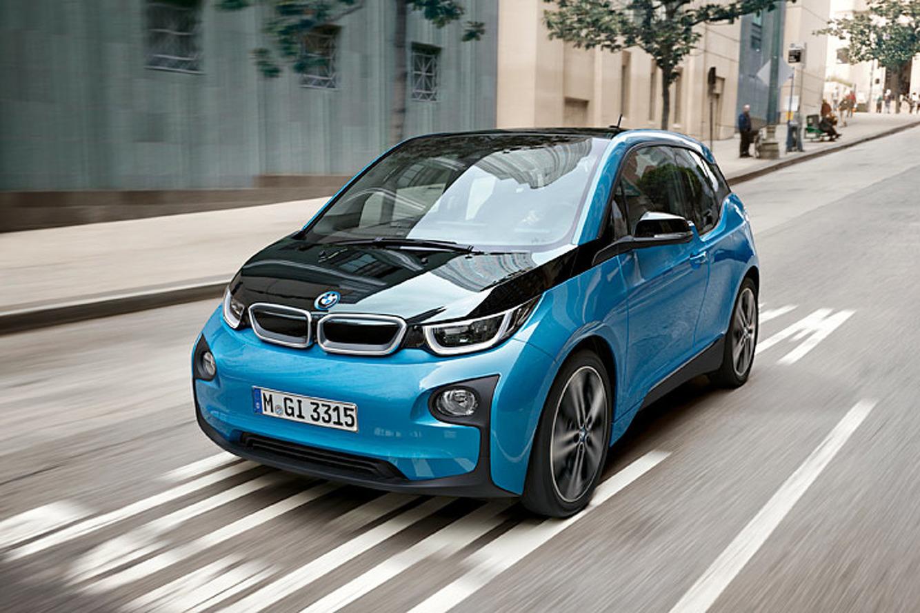 2017 BMW i3 EV Gets 50 Percent More Driving Range