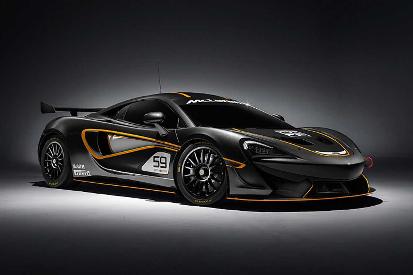 The McLaren 570S GT4 is What Track Stars are Made Of