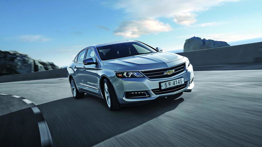 US-built Chevrolet Impala goes on sale in South Korea