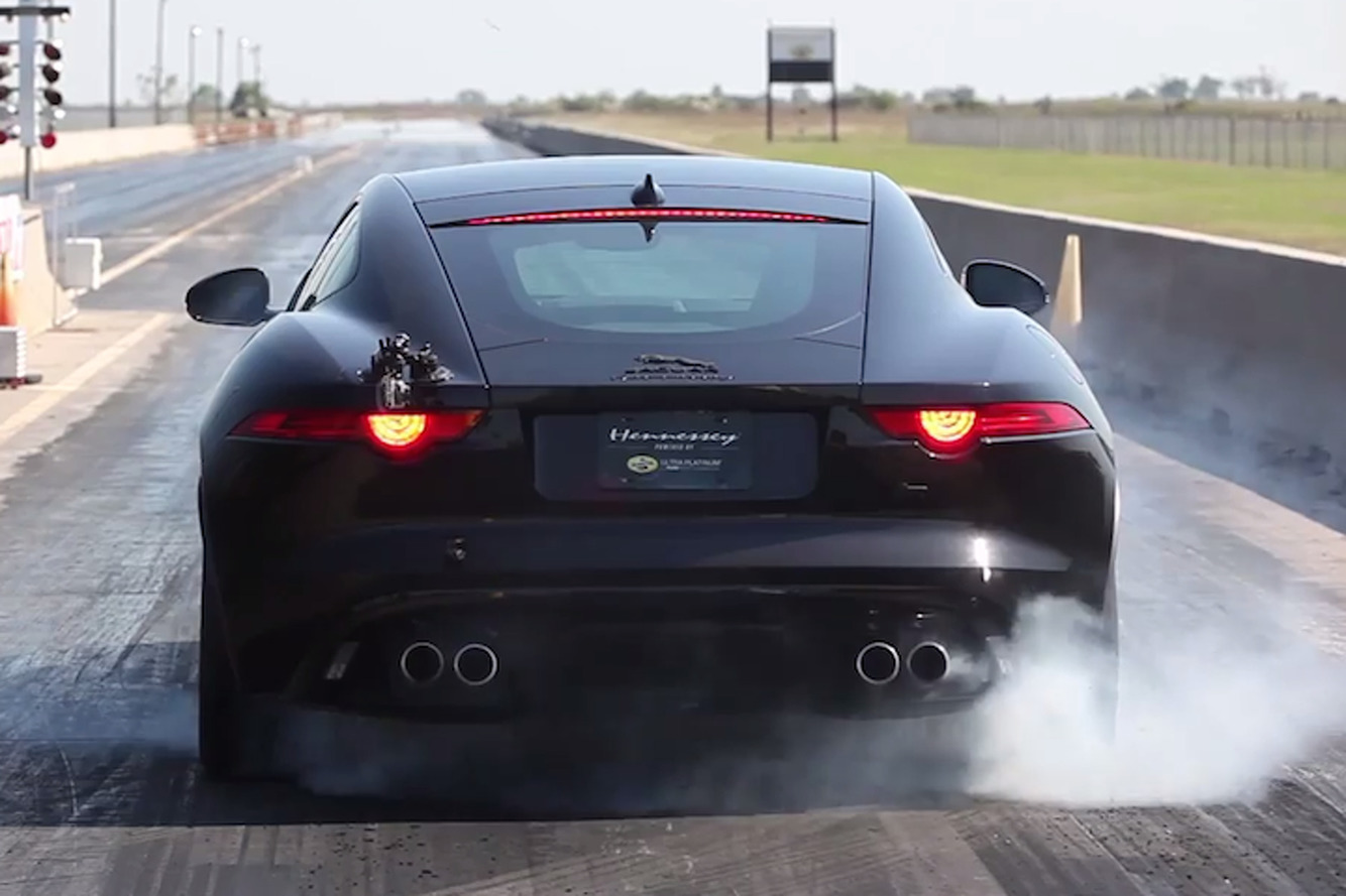Hennessey Gave the Jaguar F-Type a Bunch of Power