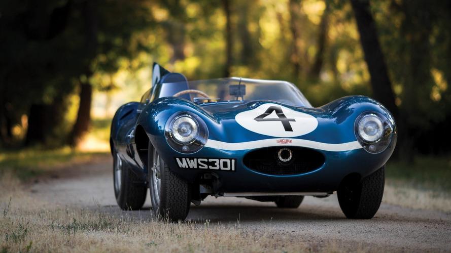 Jaguar D-Type - Vendue aux enchères à 19,2 millions d'euros !