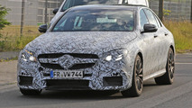 Next generation Mercedes-AMG E63 spy photo