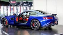 Mercedes AMG GT S Brilliant Blue Metallic