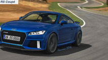 Audi TT RS Coupe render