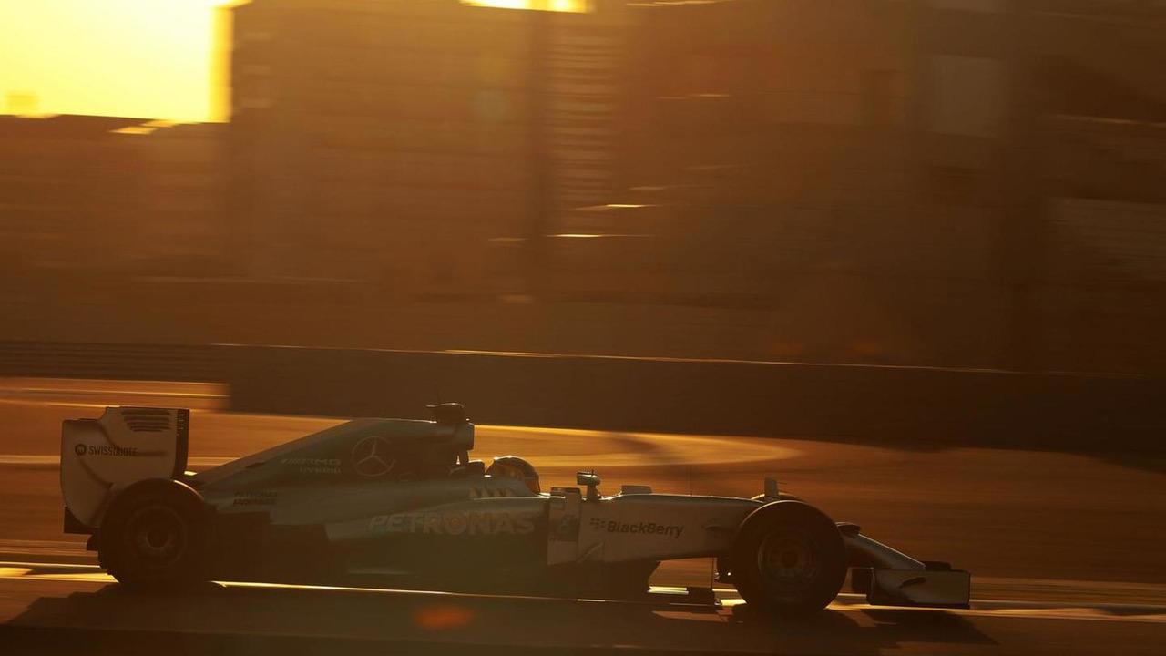 Pascal Wehrlein (GER), 26.11.2014, Formula 1 Testing, Day Two, Yas Marina Circuit, Abu Dhabi / XPB