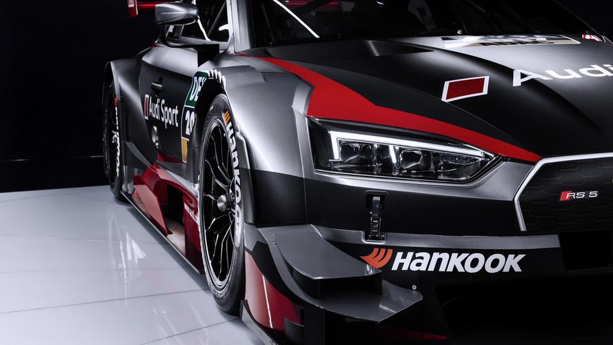 Audi RS5 DTM reveals its dark side under Geneva lights
