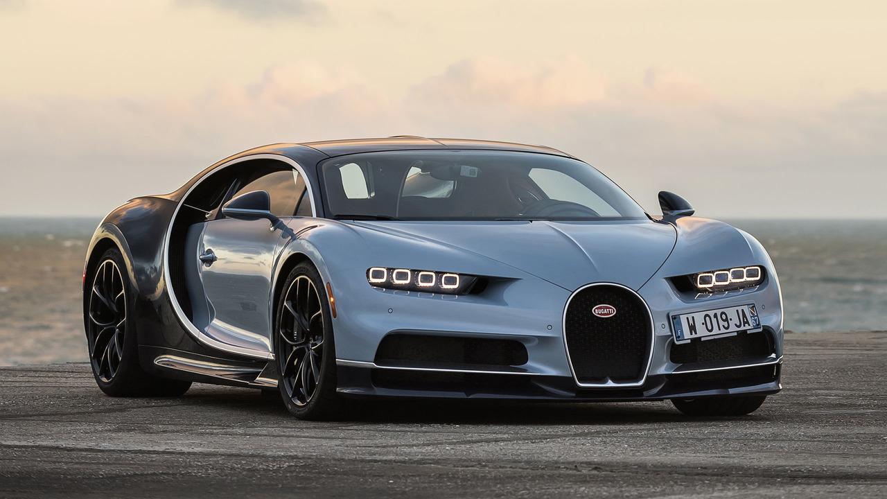 Premier Contact Bugatti Chiron Briseuse De Records