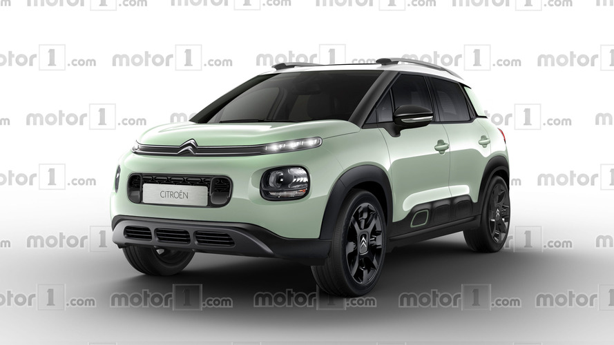 2018 Citroen C3 Aircross render