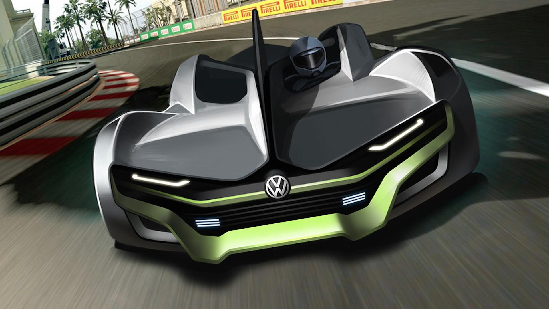 2023 Vw Sports Car Rendering Looks Ready For The Track