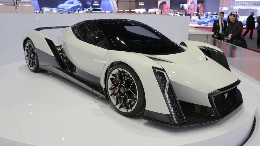Dendrobium EV concept looks wild in Geneva, 0-60 mph in 2.7 sec