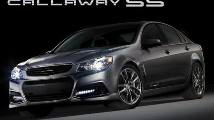 Callaway supercharges the Chevrolet SS to 570 bhp