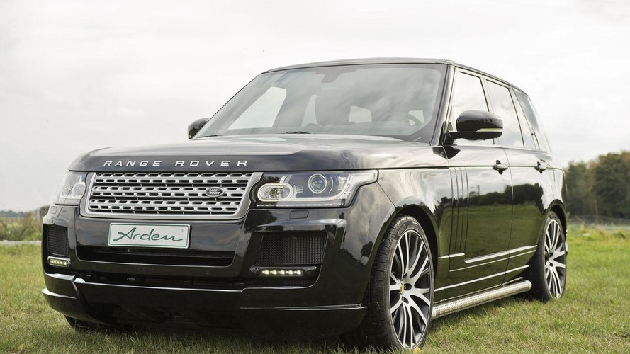 Arden AR 9 introduced, based on the Range Rover
