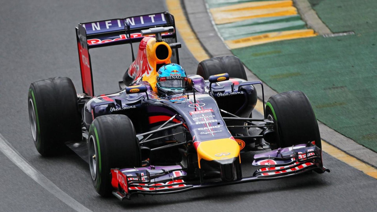 Sebastian Vettel Red Bull Racing RB10  Australian Grand Prix