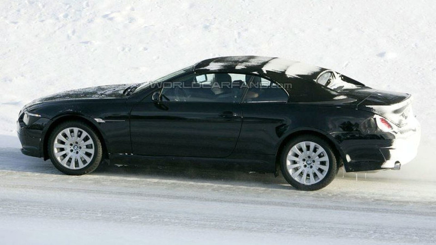 SPY PHOTOS: BMW 6 Series Facelift