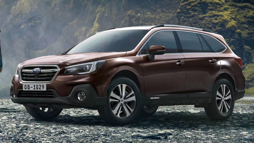 Subaru Outback, un restyling in stile Viziv